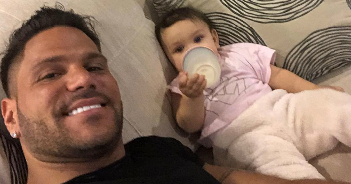 Ronnie Ortiz-Magro Poses With Daughter at 1st Birthday Party: Pics