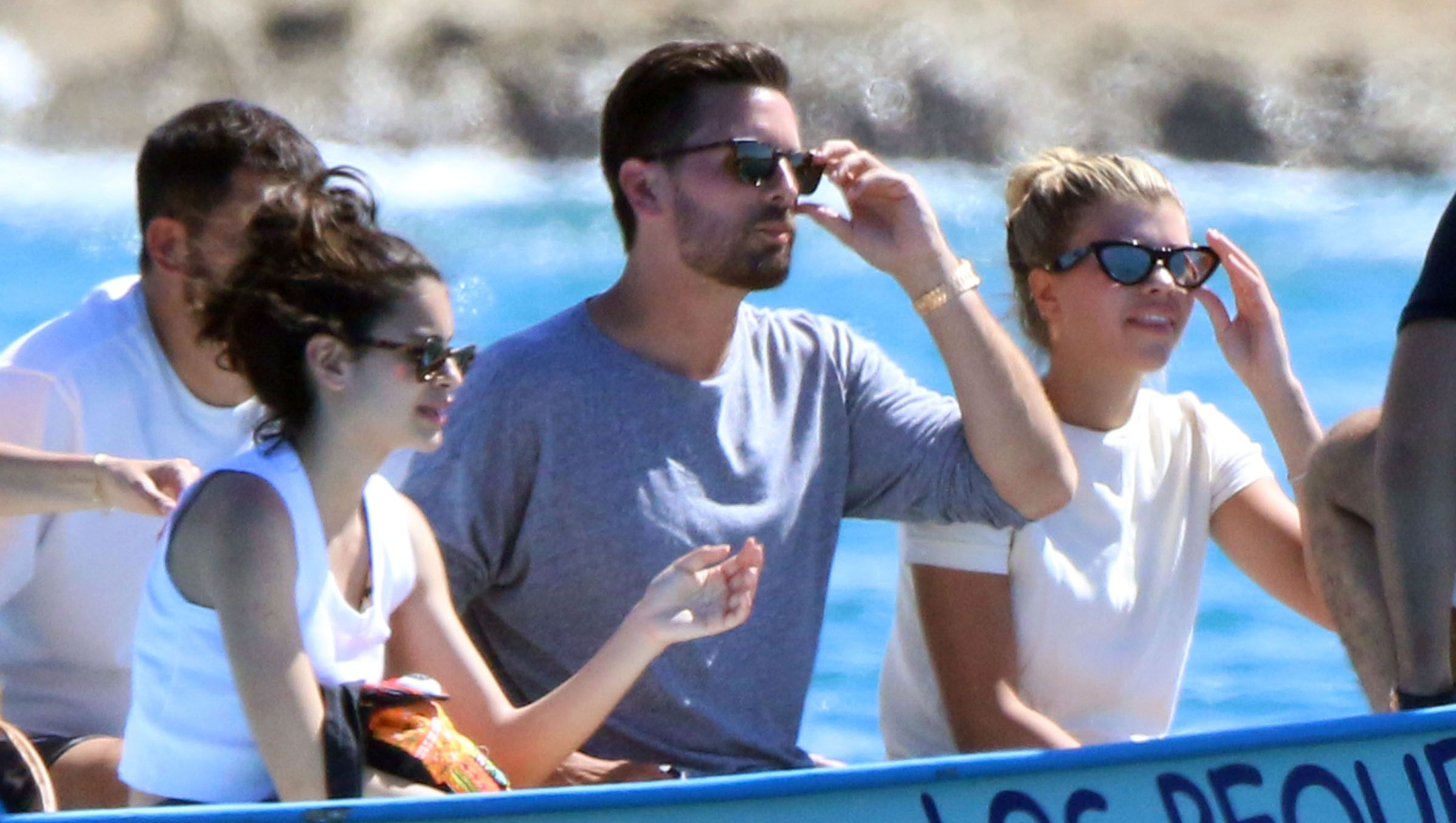 Scott Disick Sofia Richie vacation in Mexico