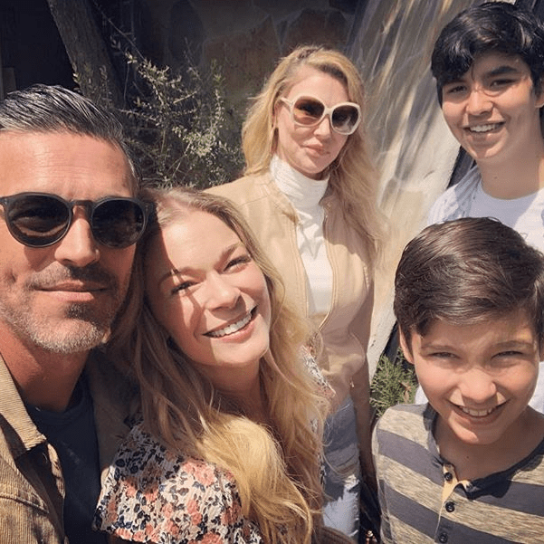 LeAnn Rimes, Brandi Glanville Spend 'Awkward Family Easter' Together