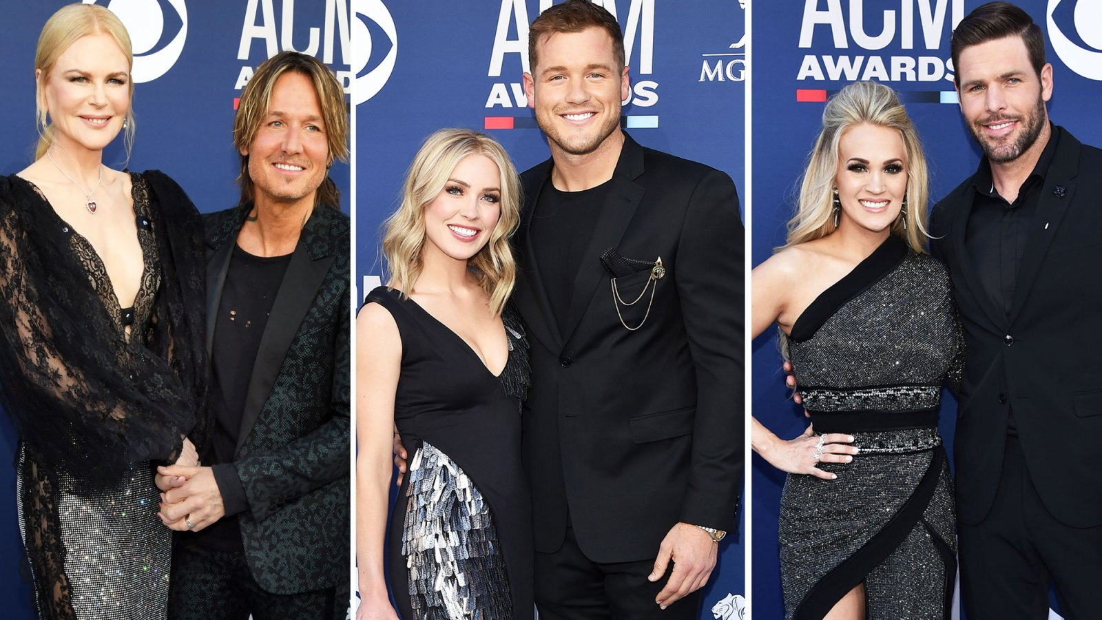 Acm awards 2019 red carpet fashion most stylish couples