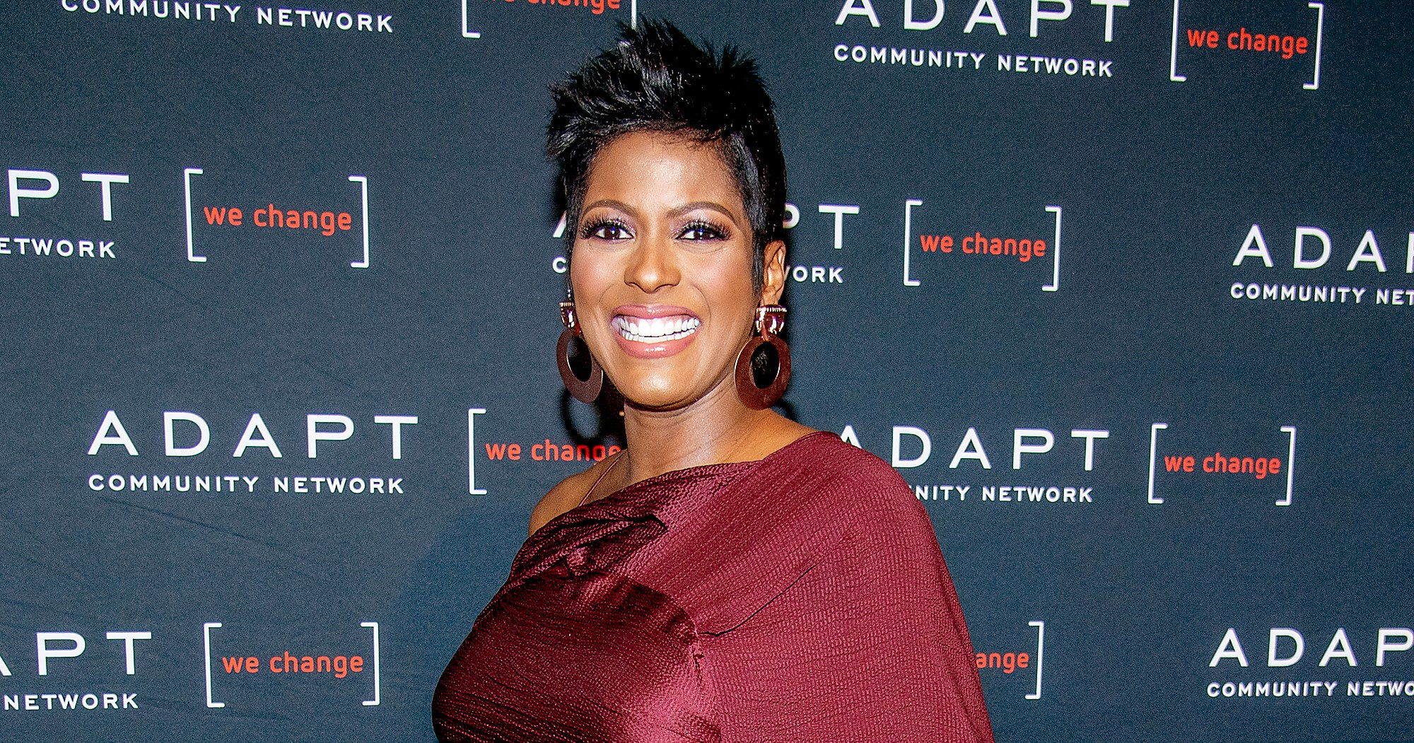 Today's Tamron Hall Gives Birth to First Child With Steven Greener: 1st Pic