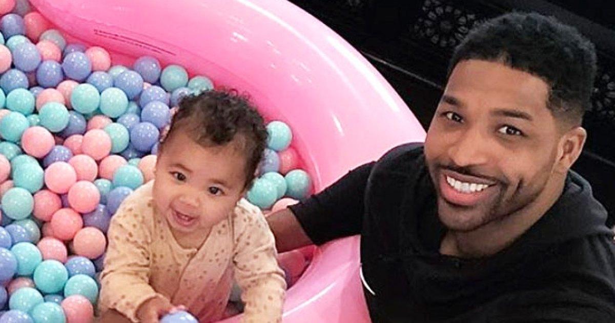 Tristan Thompson Celebrates Daughter True's 1st Birthday