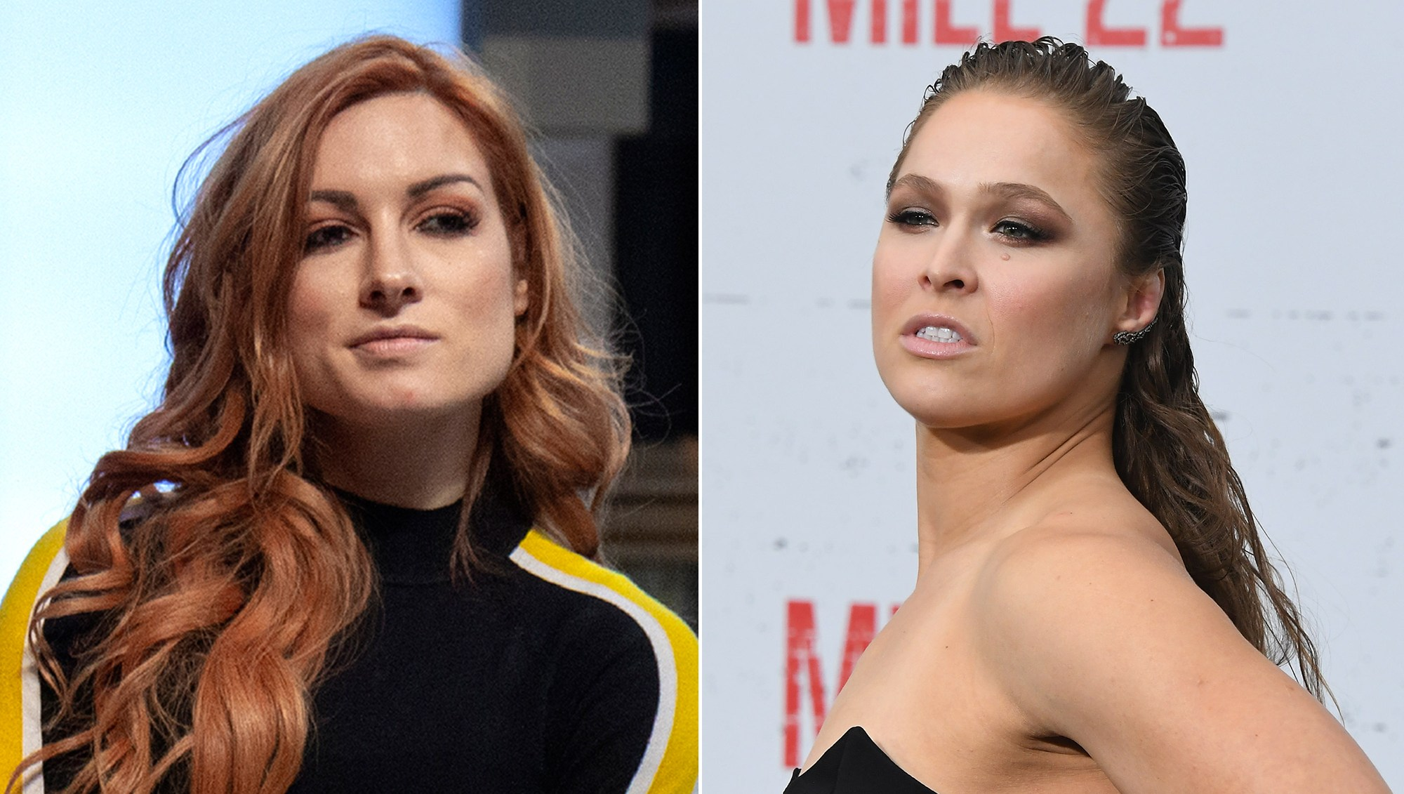 WWE Becky Lynch Slams Ronda Rousey