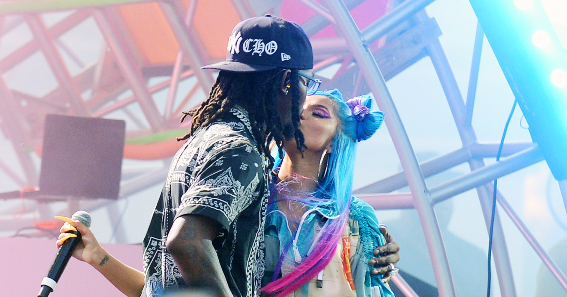 Coachella Love! Cardi B and Offset Pack on the PDA Onstage: Pics