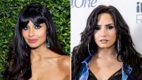 Jameela Jamil and Demi Lovato