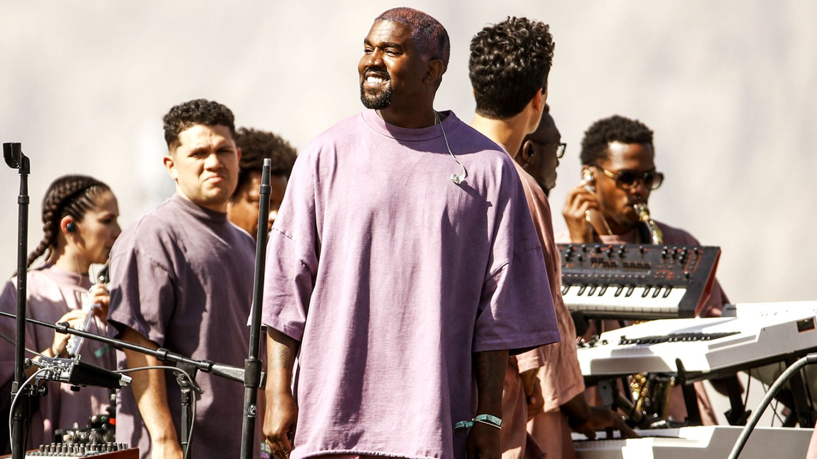 b8987fcc0605f Kanye West Sold Church Merchandise at Coachella and Lots of People Have  Opinions About It