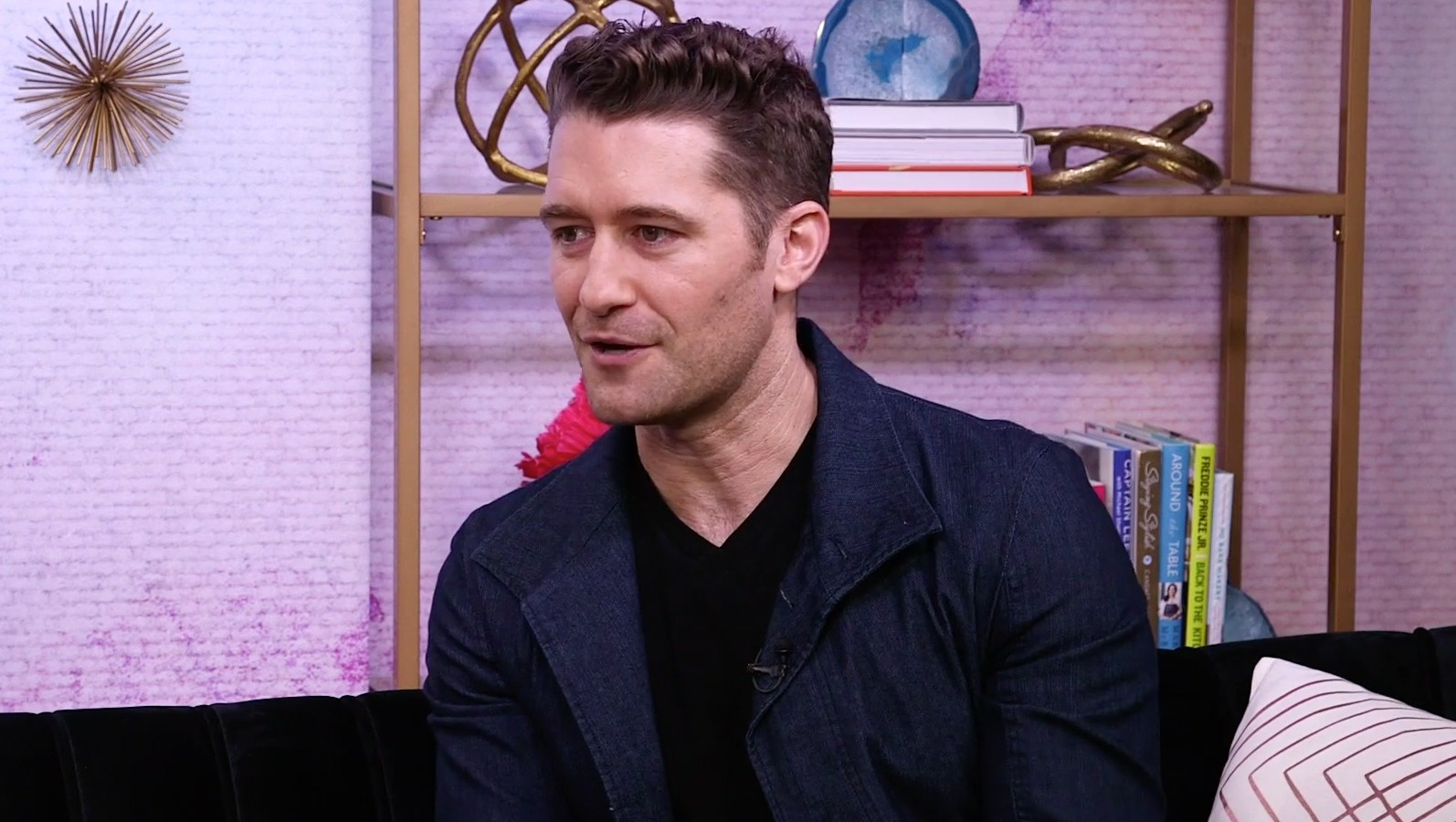 Matthew Morrison Son Following In His Footsteps