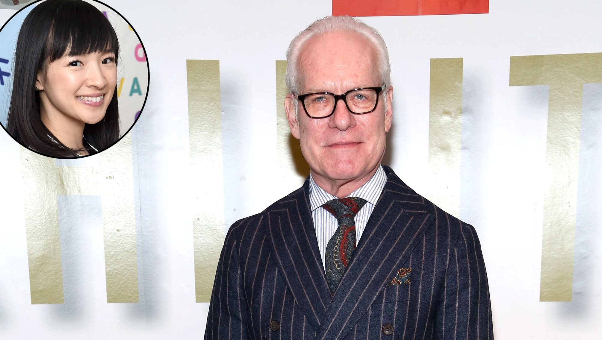 Tim Gunn Not a Believer of Marie Kondo