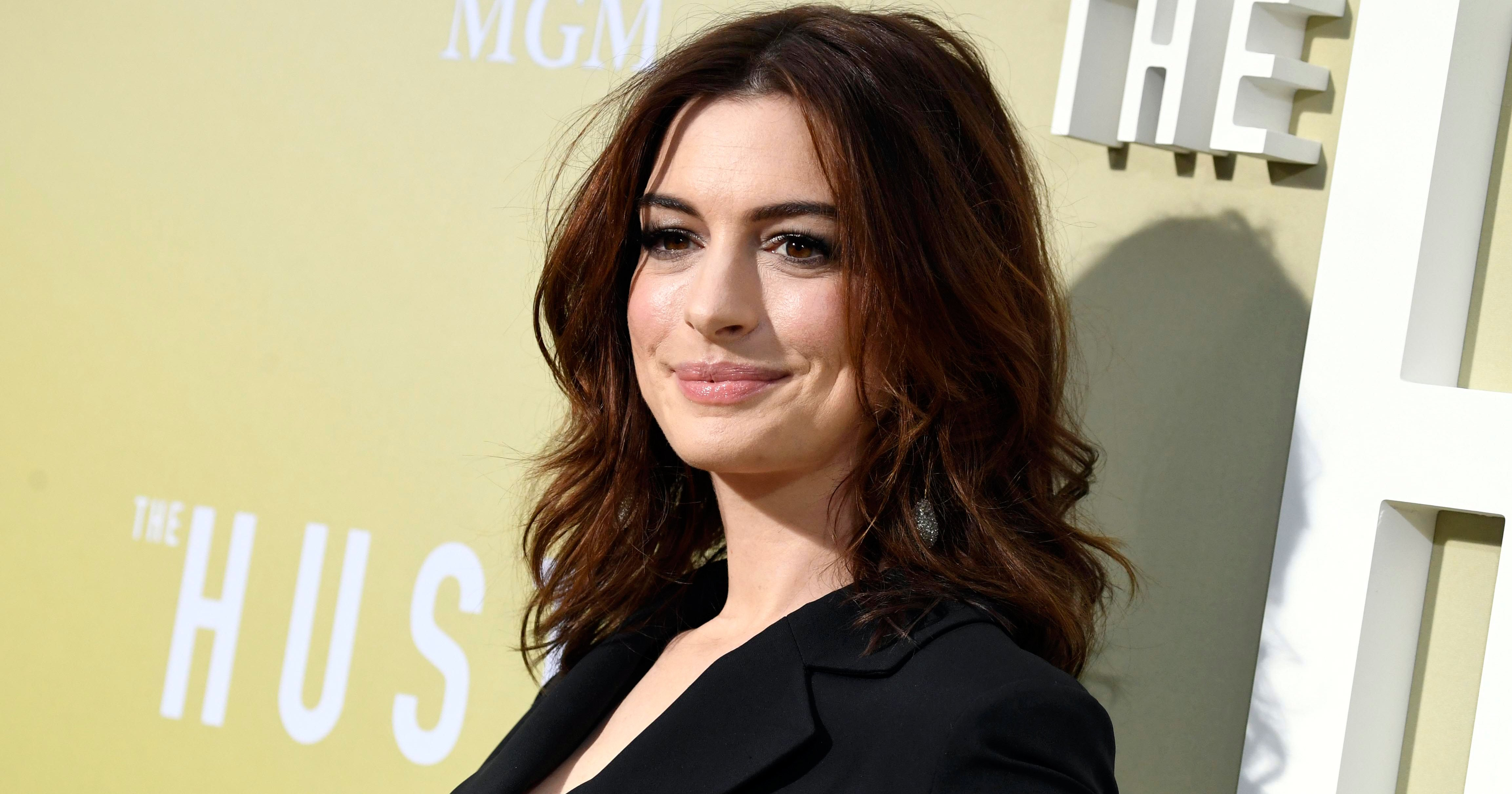 Anne Hathaway's Son Is 'Big Reason Why' She Joined 'Sesame Street'