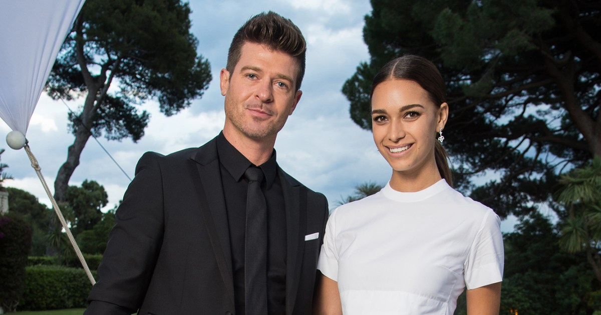 April Love Geary Jokes She Wants Baby No. 3 With Robin Thicke