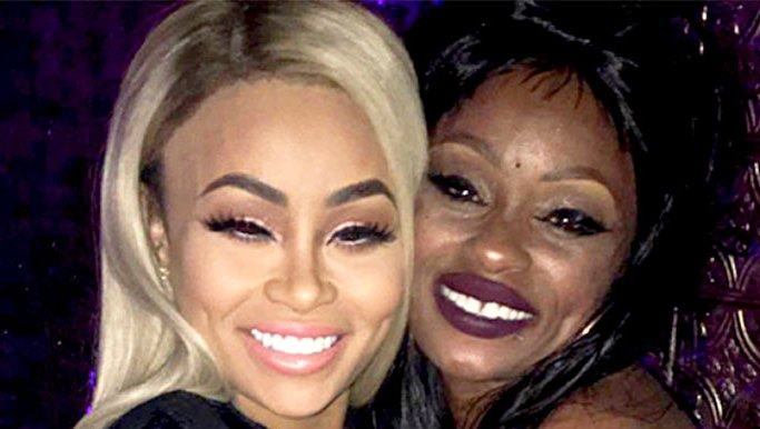 Blac Chyna Makes Up With Her Mom Tokyo Toni