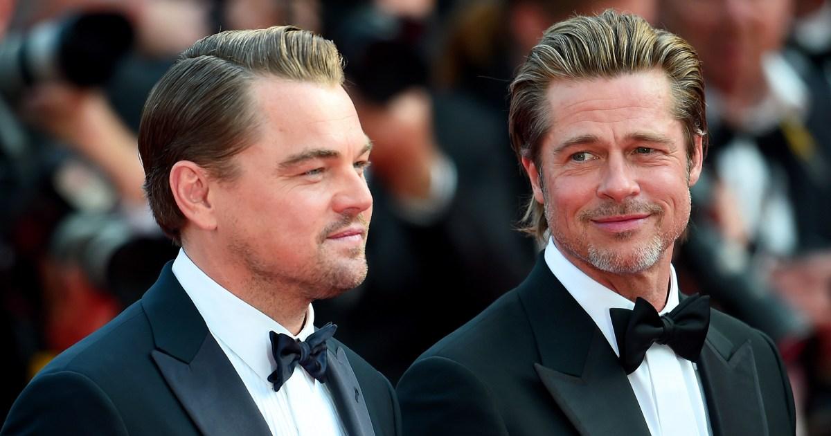 Brad Pitt Calls Working With Leonardo DiCaprio a 'Great ...