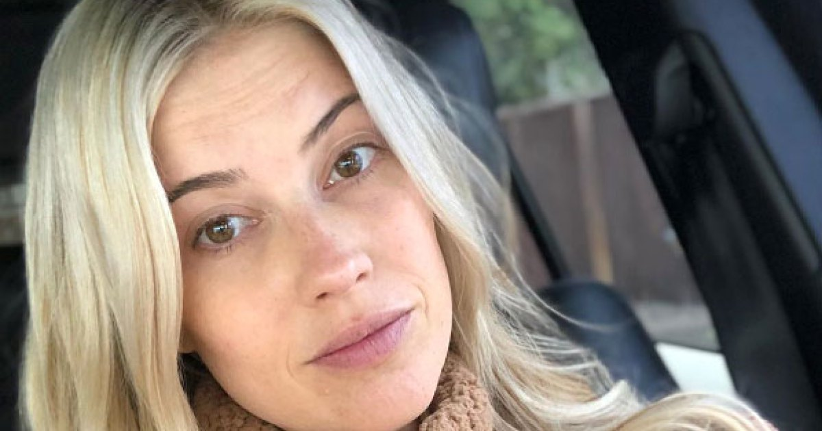 Pregnant Christina Anstead Looks Flawless in Makeup-Free Selfie, Admits She's Been 'Crabby' and 'Tired'
