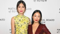 2019 National Board Of Review Gala Crazy Rich Asians' Gemma Chan 'Likes' Tweet Insulting Costar Constance Wu