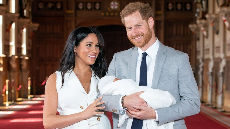 Duchess Meghan Shares Sweet Mother's Day Tribute With Photo of Baby Archie