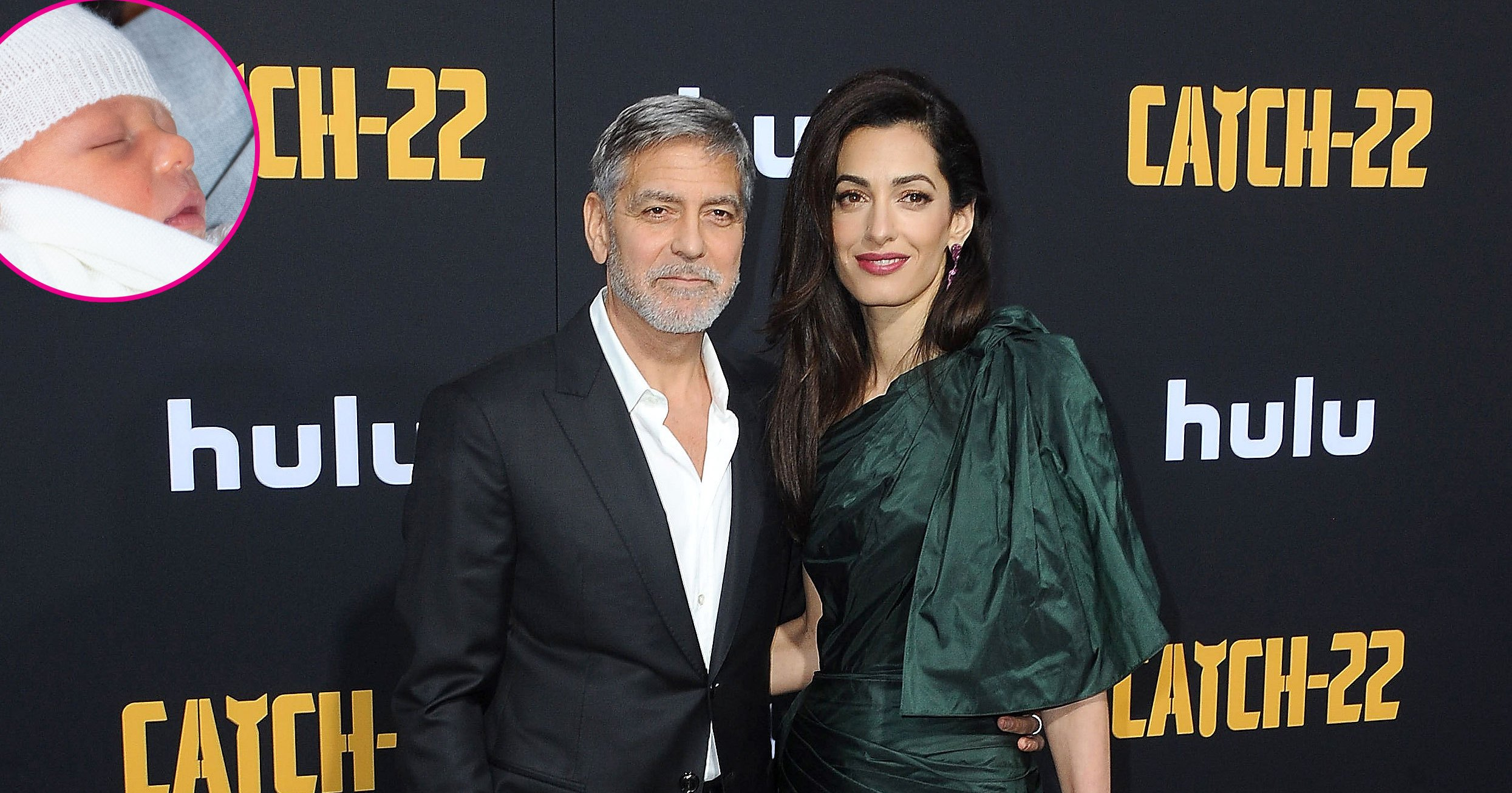 George Clooney Addresses Rumors He's Royal Baby Archie's Godfather