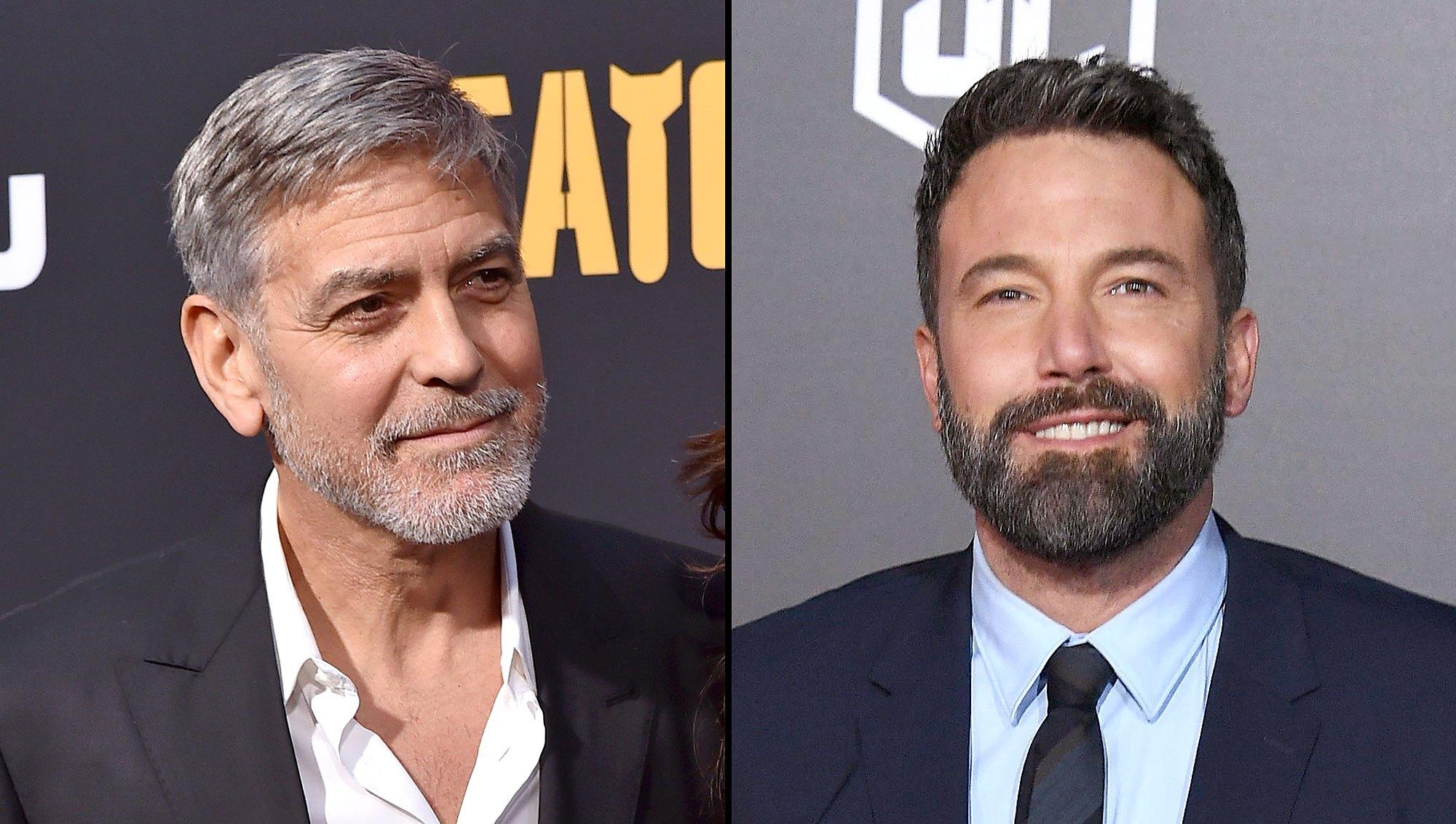 George Clooney and Ben Affleck Batman