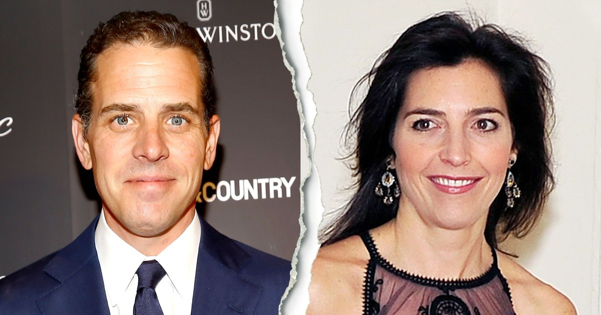 Hunter Biden Splits From Late Brother Beau's Widow Hallie: Report