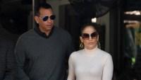 Jennifer Lopez Transitional Spring Dressing