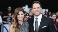 Katherine Schwarzenegger Dog Reacts Chris Pratt Son Jack
