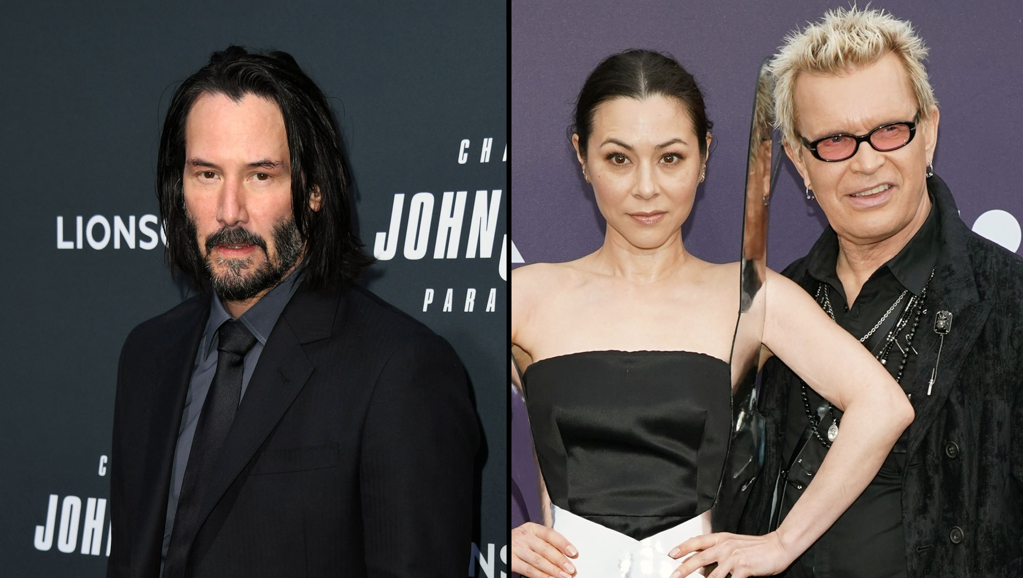 Keanu Reeves, Ex China Chow 'Flirting' Next to Boyfriend Billy Idol-1