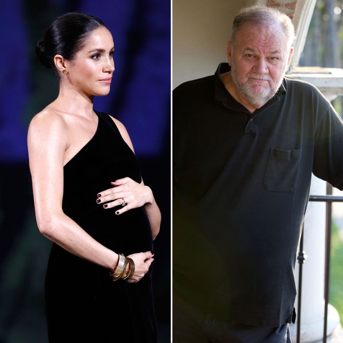 Meghan, Duchess of Sussex and her Father Thomas Markle