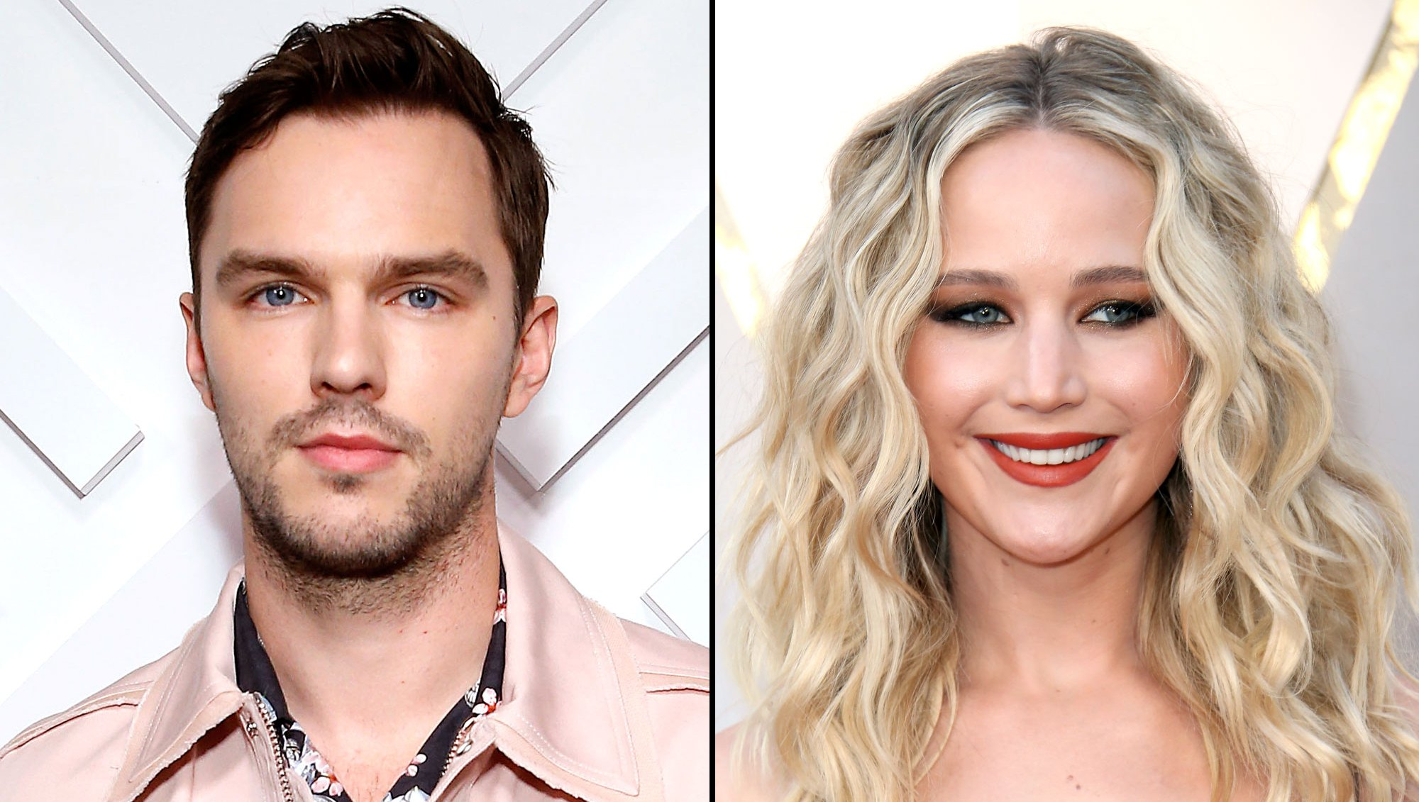 Nicholas Hoult Compares Working With Ex Jennifer Lawrence to 'Going Back to School'-1