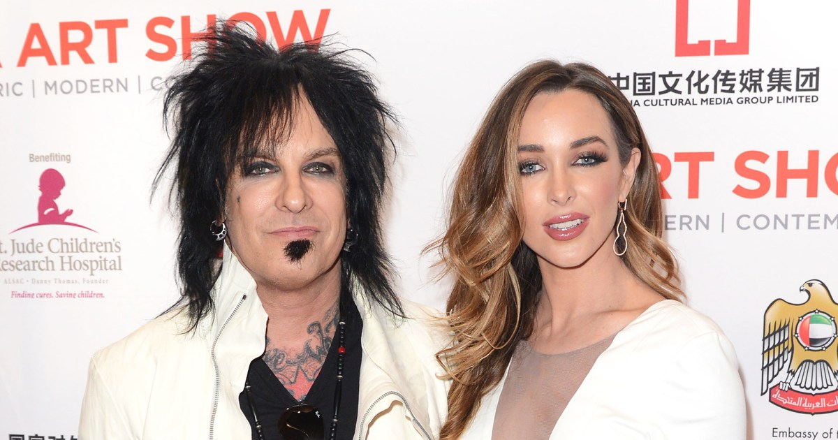 Nikki Sixx's Pregnant Wife Courtney Shows Off Daughter's Nursery