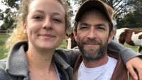 Luke Perry's Daughter Sophie Perry Reveals He Was Buried in an Eco-Friendly Mushroom Suit