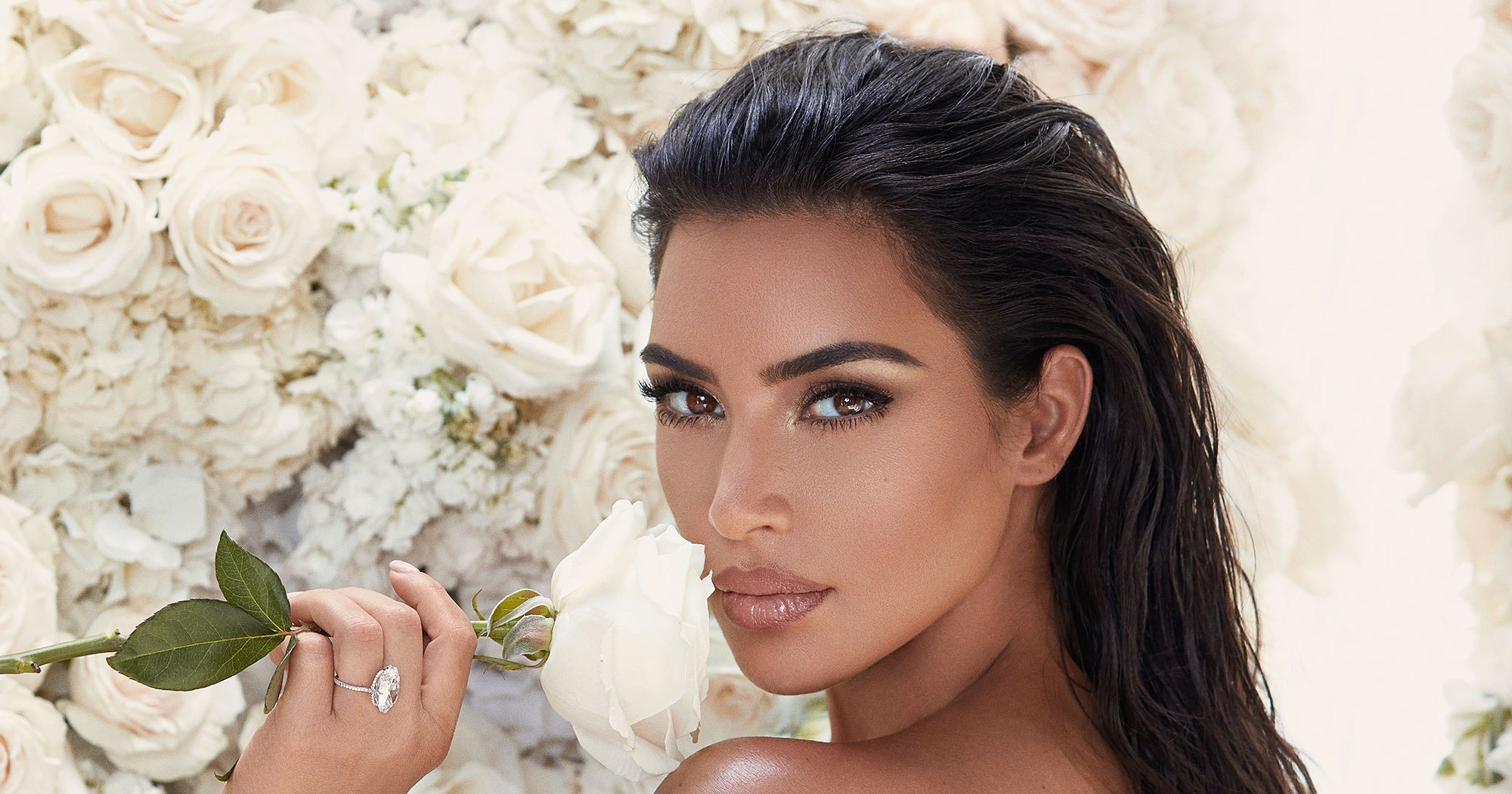See All the Makeup From Kim Kardashian's KKW Beauty Mrs. West Bridal Collection