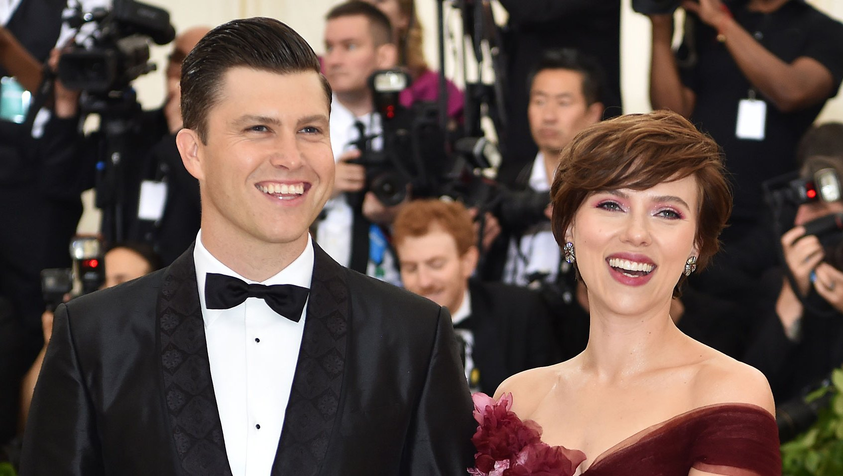 Scarlett Johansson and Colin Jost Relationship Timeline