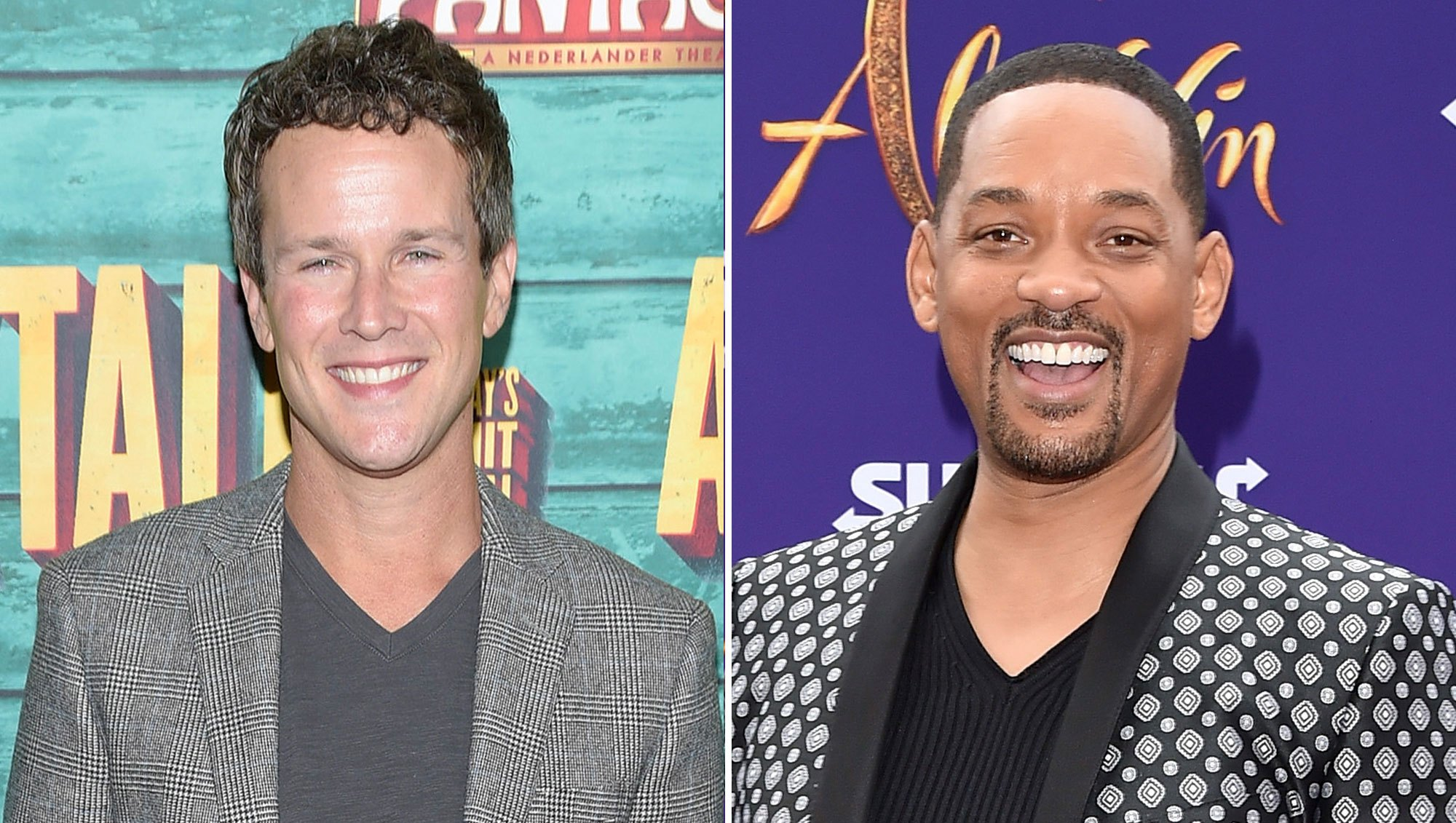 Scott Weinger Will Smith Genie Aladdin