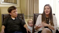 Zach and Tori Roloff with Jackson