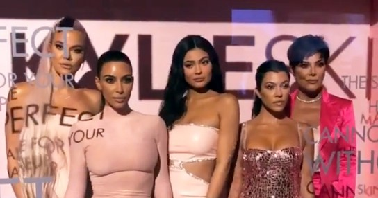Skates at the Ready! Caitlyn, Khloe, More Support Kylie at Skincare Launch