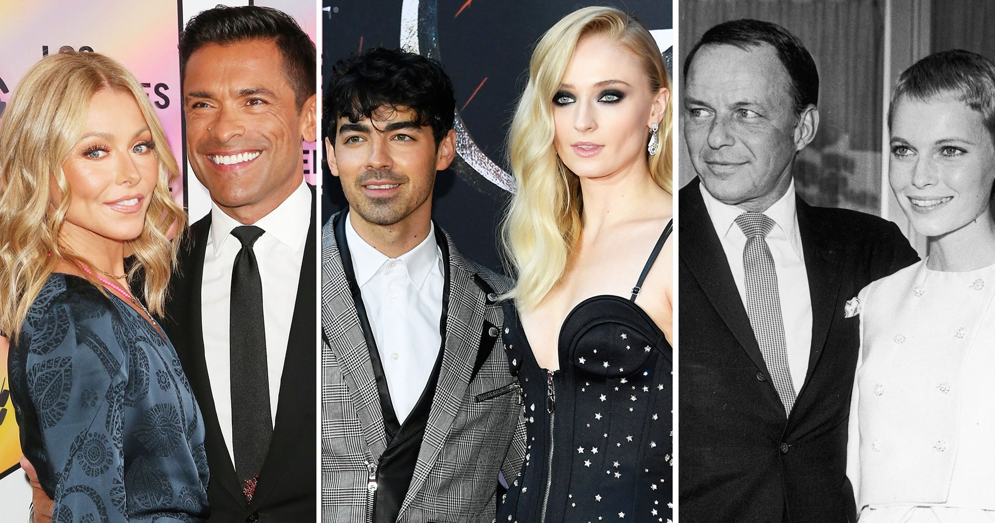 Kelly Ripa and Mark Consuelos, Joe Jonas and Sophie Turner, More Celeb Couples Who Wed in Las Vegas