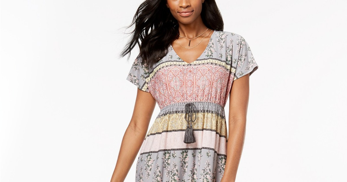 78eed59a976f Need an Easy Summer Dress? This Comfy Maxidress Is on Sale at Macy's