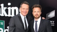 Breaking Bad Bryan Cranston Aaron Paul Tease Same Photo