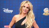 Britney Spears Admits She Has To Work 'Really Hard' to Lose Weight Black Dress Radio Disney Awards