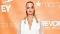 Cara Delevinge Pantless Outfit TrevorLIVE New York Gala June 17