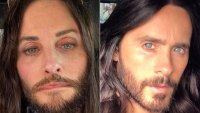 Courteney Cox Jared Leto Twinning