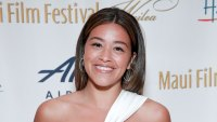Gina Rodriguez Abs White Dress Sunburn Tan