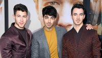 Nick Jonas, Joe Jonas, and Kevin Jonas Chasing Happiness Premiere