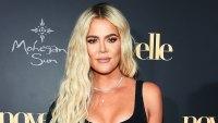 Khloe Kardashian Black Outfit June 22, 2019