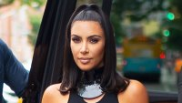 Kim Kardashian West Shiny Summer Hair