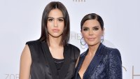 Lisa Rinna's Daughter Amelia Says She Would Have Relapsed If She Hadn't Revealed Eating Disorder Black Suit and Navy Blue Glitter Suit
