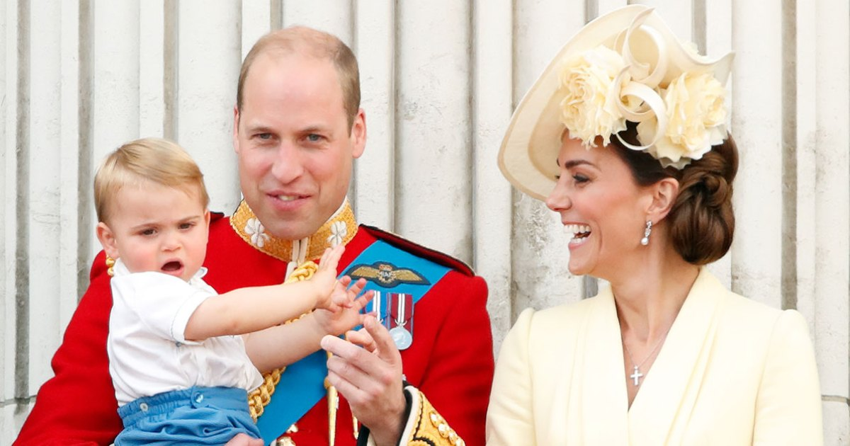 Prince William Shares Sweet Pic Of Prince Louis On Father