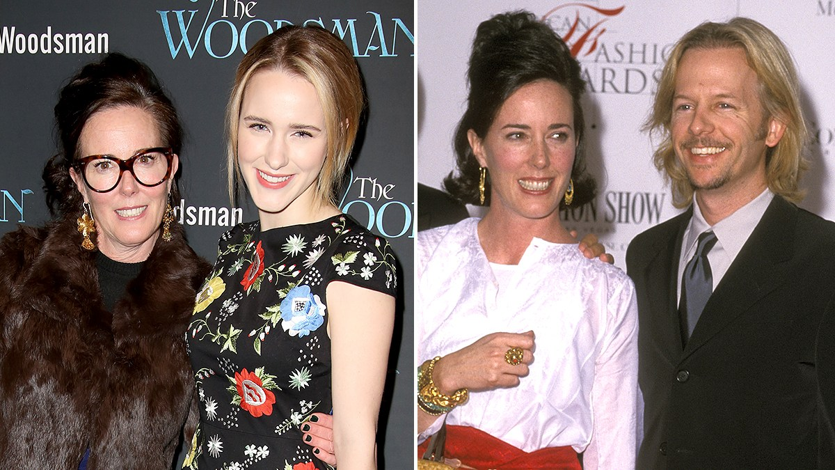 Rachel Brosnahan and David Spade Remember Kate Spade on 1st Anniversary of Her Death
