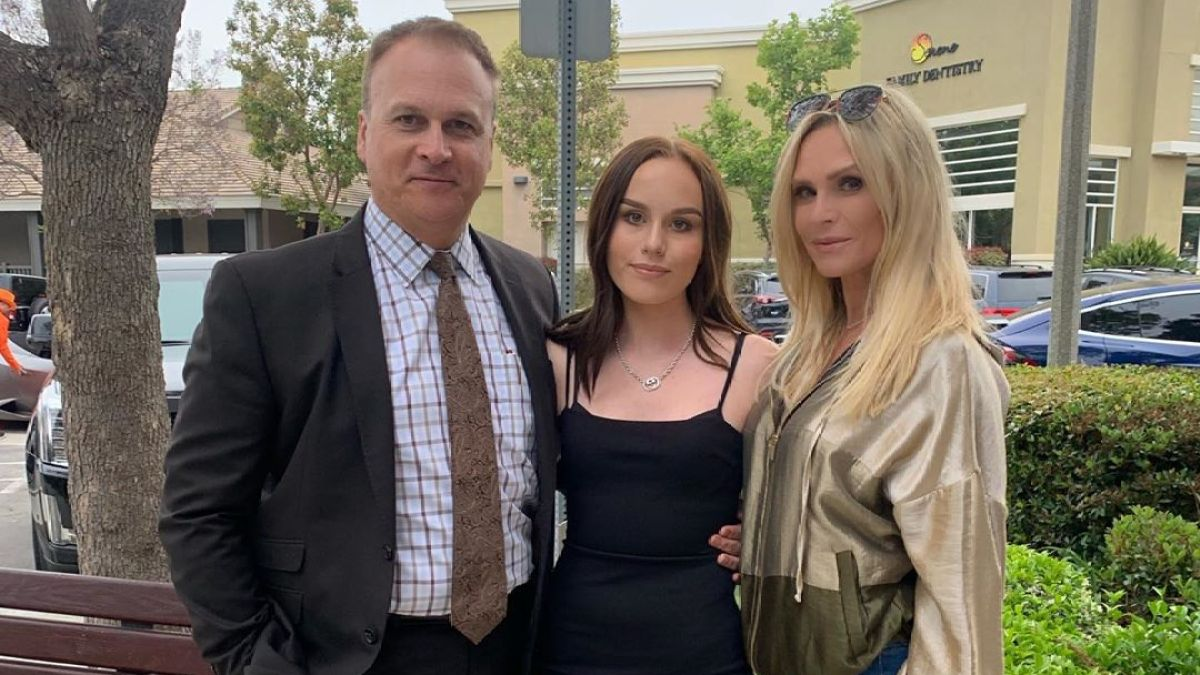 'Real Housewives of Orange County' Star Tamra Judge Reunites with Ex-Husband Simon Barney for Daughter Sophia's 8th Grade Dance