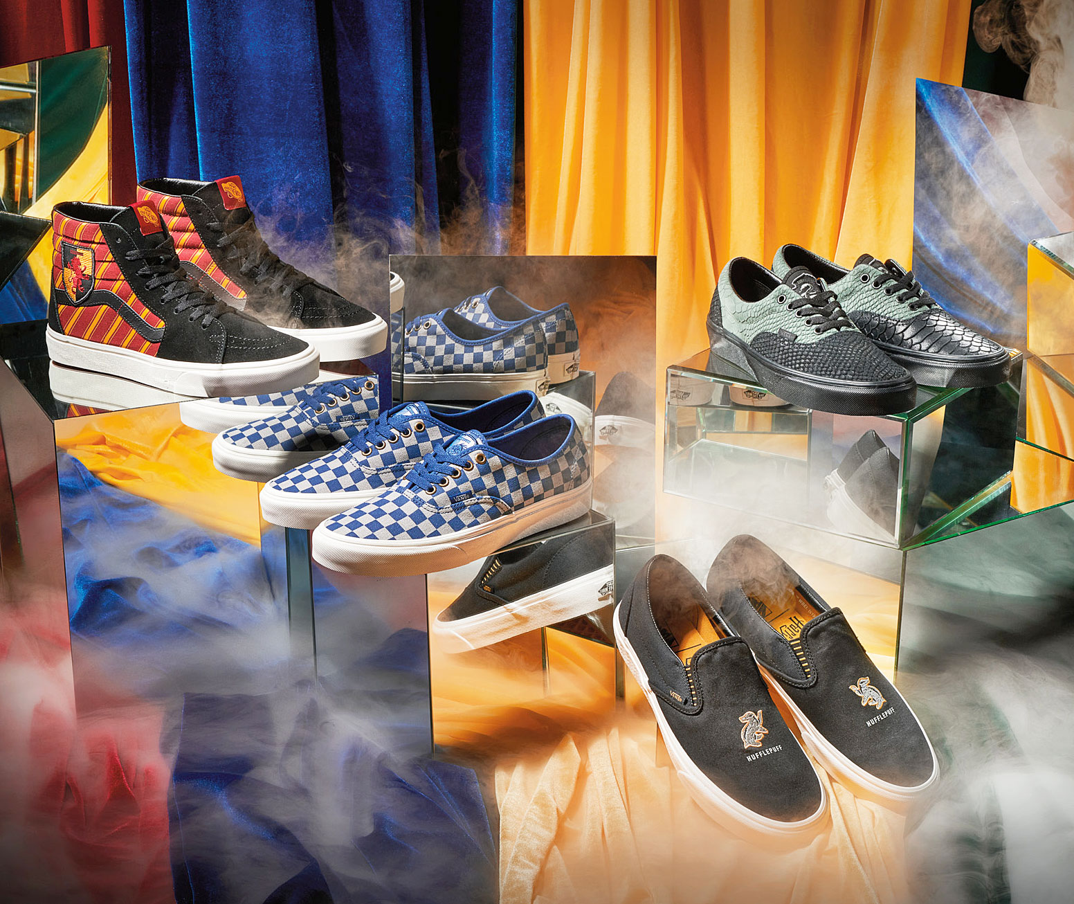 Vans Just Released a Line of 'Harry Potter' Inspired Sneakers