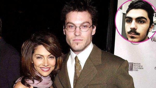 Brian Austin Green Vanessa Marcil Son Kassius Marcil-Green Visit 90210 Set After Drama